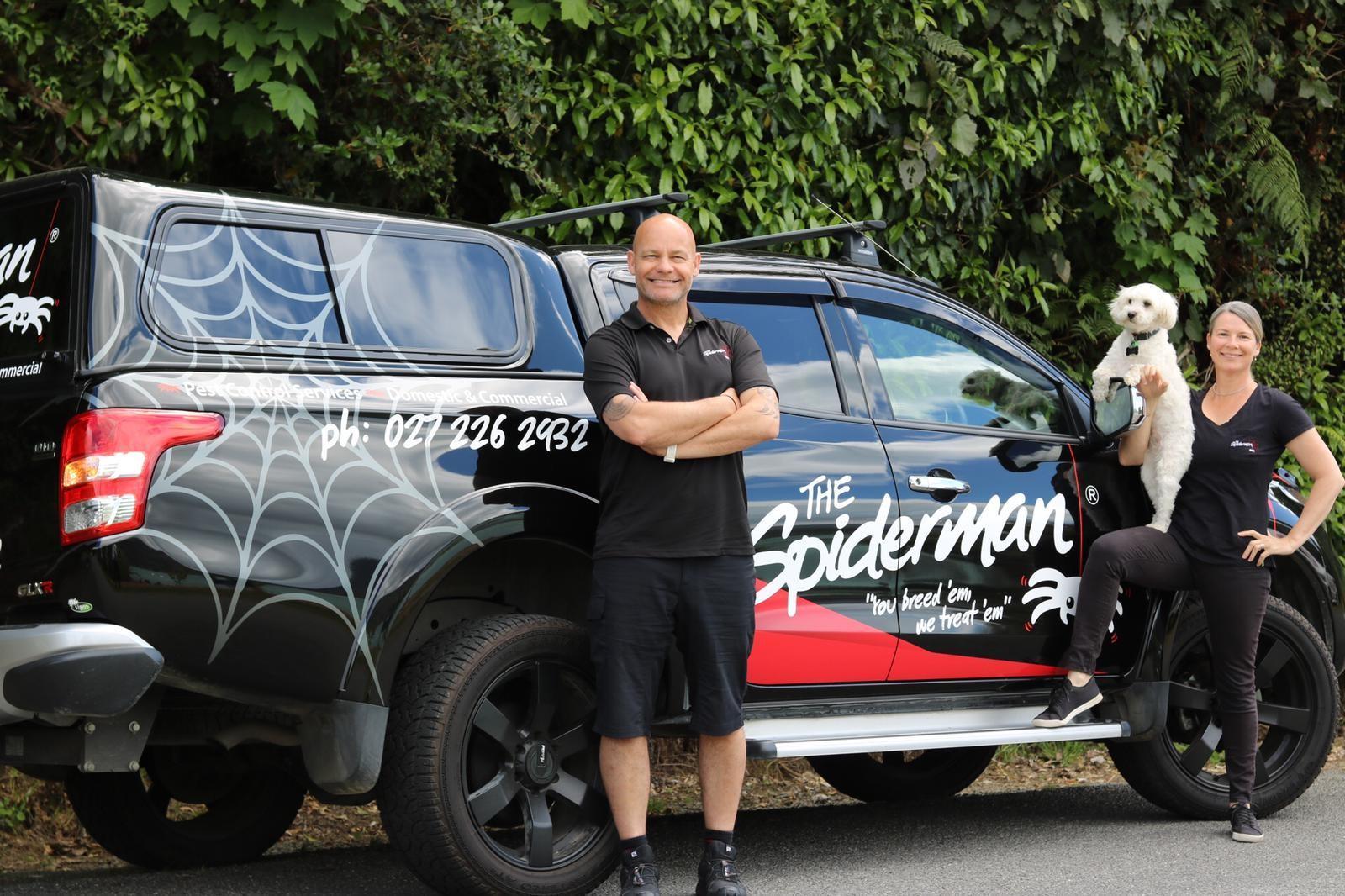 The Spiderman Marlborough Pest Control