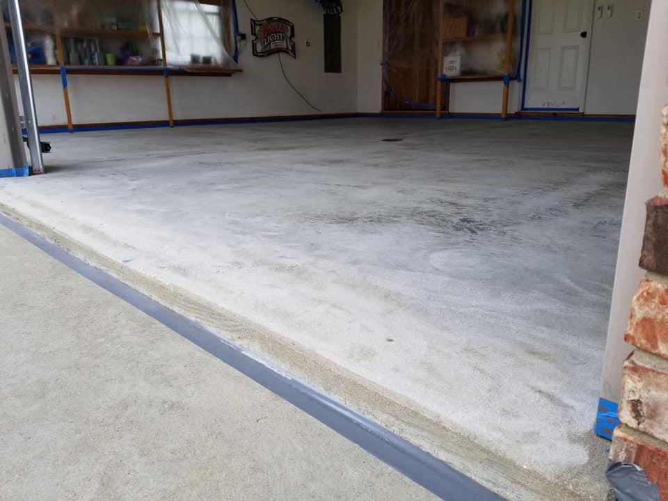 Rhino Garage, The ultimate concrete coating