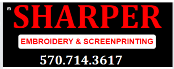Sharper Embroidery & Screenprinting