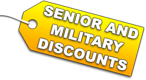 Senior and Military Discount