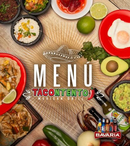 Menú Tacontento