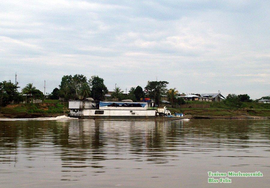 Lanchas que hacen ruta Yurimaguas Lagunas Nauta