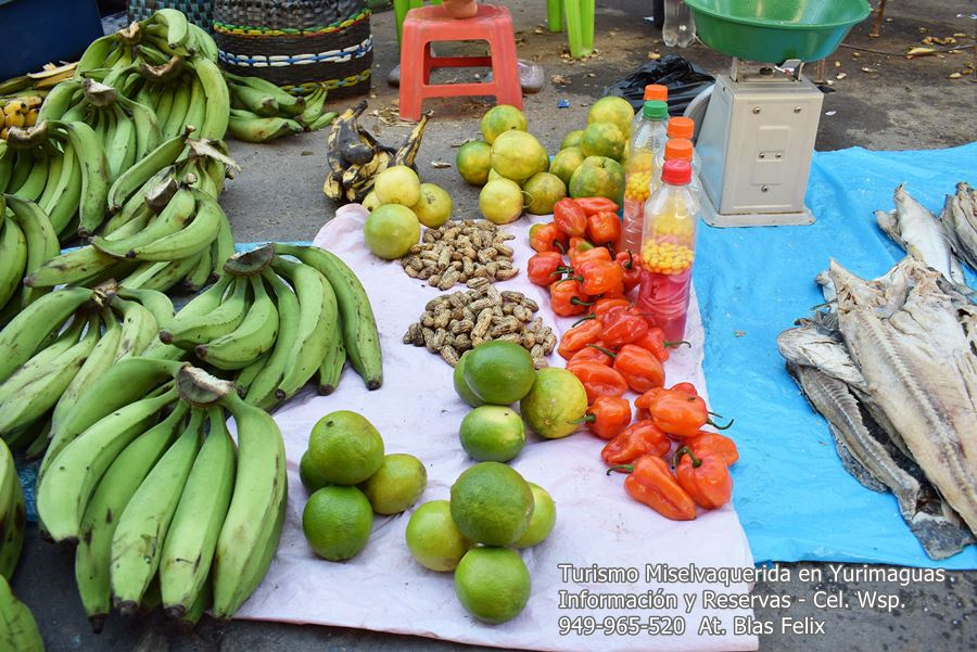 Productos amazónicos mercados de Yurimaguas