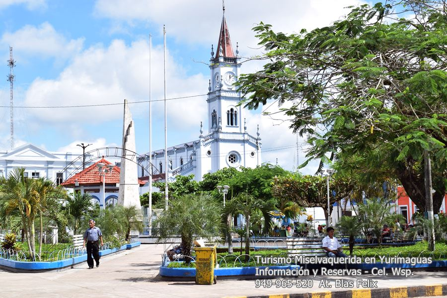 Plaza mayor de Yurimaguas City Tour