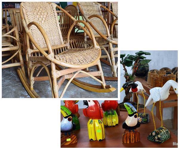 Artesanias y muebles en Yurimaguas