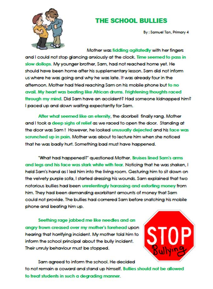 creative writing primary school resources Primary teaching resources a primary school teacher who wanted to find out more about the pupils her new class gave them a simple writing task to complete.