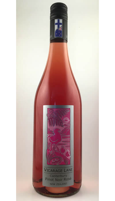 Canterbury Pinot Noir Rose - New Zealand Red Wine by Vicarage Lane