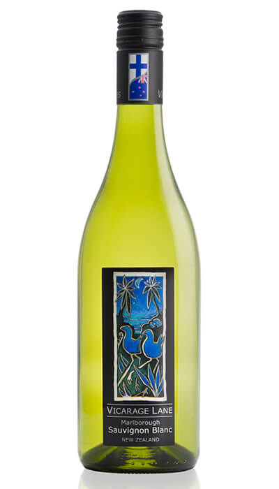 Marlborough Sauvignon Blanc - New Zealand White Wine by Vicarage Lane