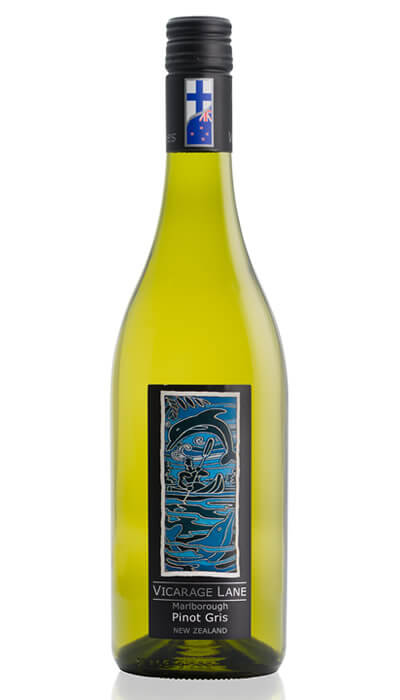 Marlborough Pinot Gris - New Zealand White Wine by Vicarage Lane
