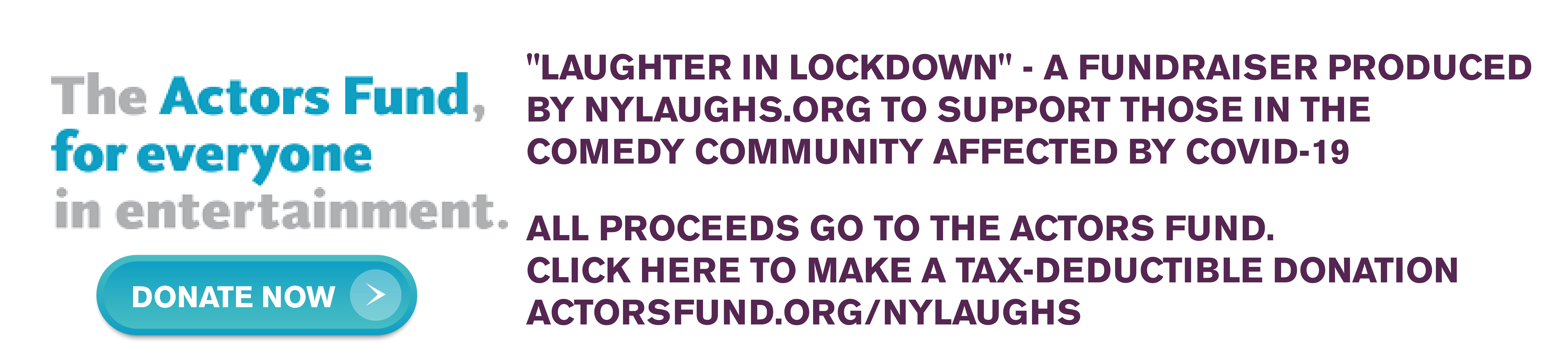 Laughter in Lockdown 2020!