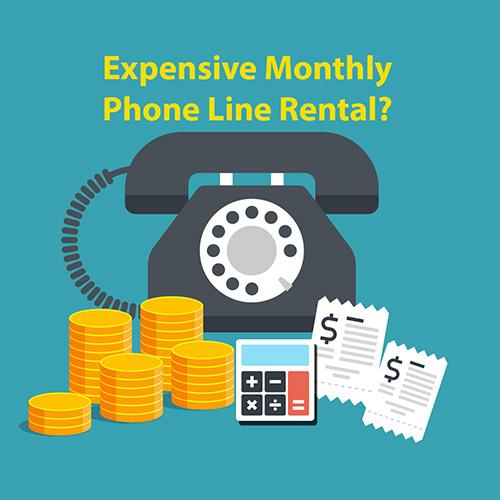 Guaranteed phone line saving