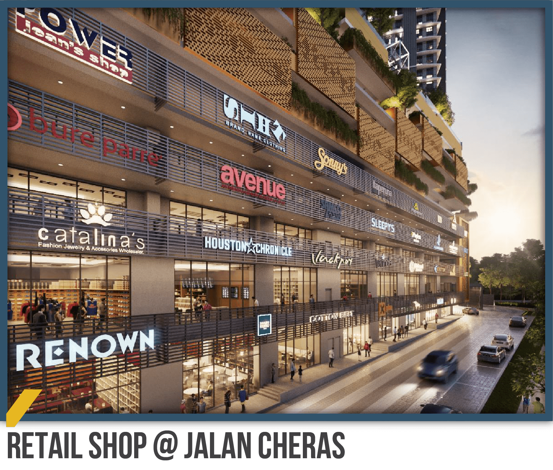 Retail shop, Jalan Cheras