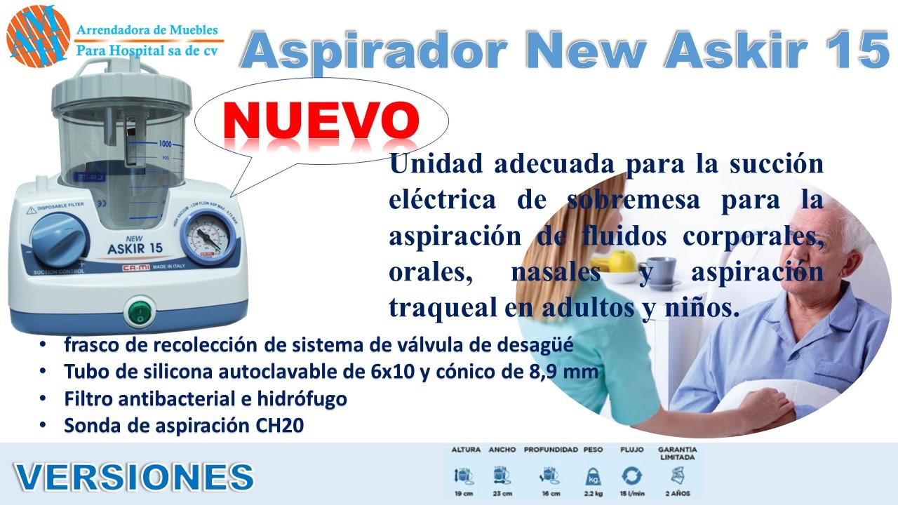 Aspirador New Askir 15