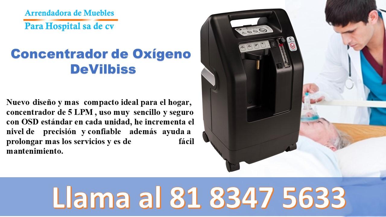 Concentrador de Oxígeno DeVilbiss