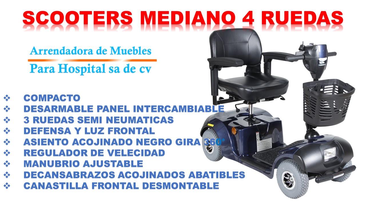 SCOOTERS MEDIANO 4 RUEDAS