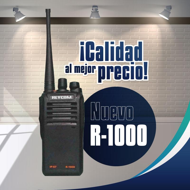 Radio de 2 vías R-1000