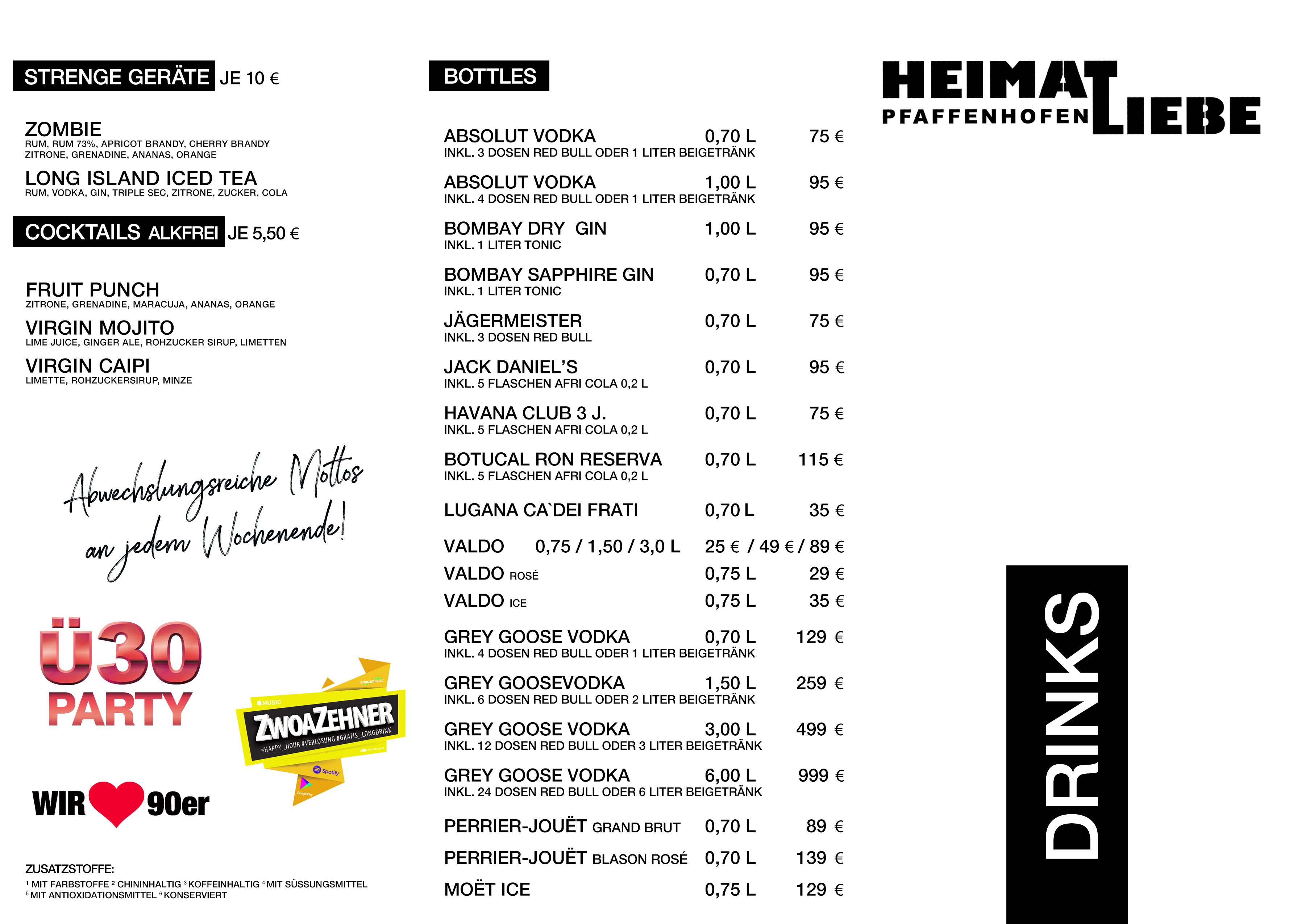 Heimatliebe Drinks