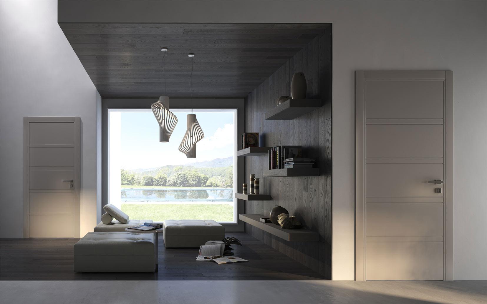 Porte interne e vetrate appia infissi srl - Porte d interni design ...