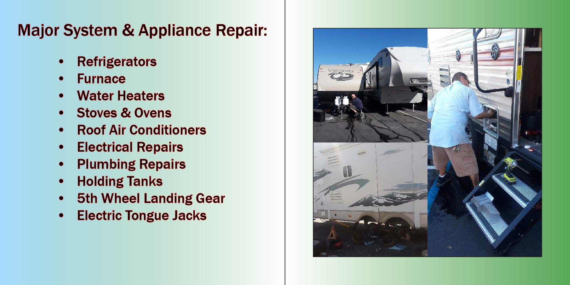 Major System & Appliance Repair