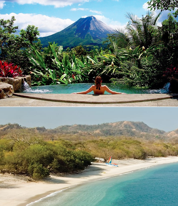 Arenal volcanoe & Guanacaste Beach