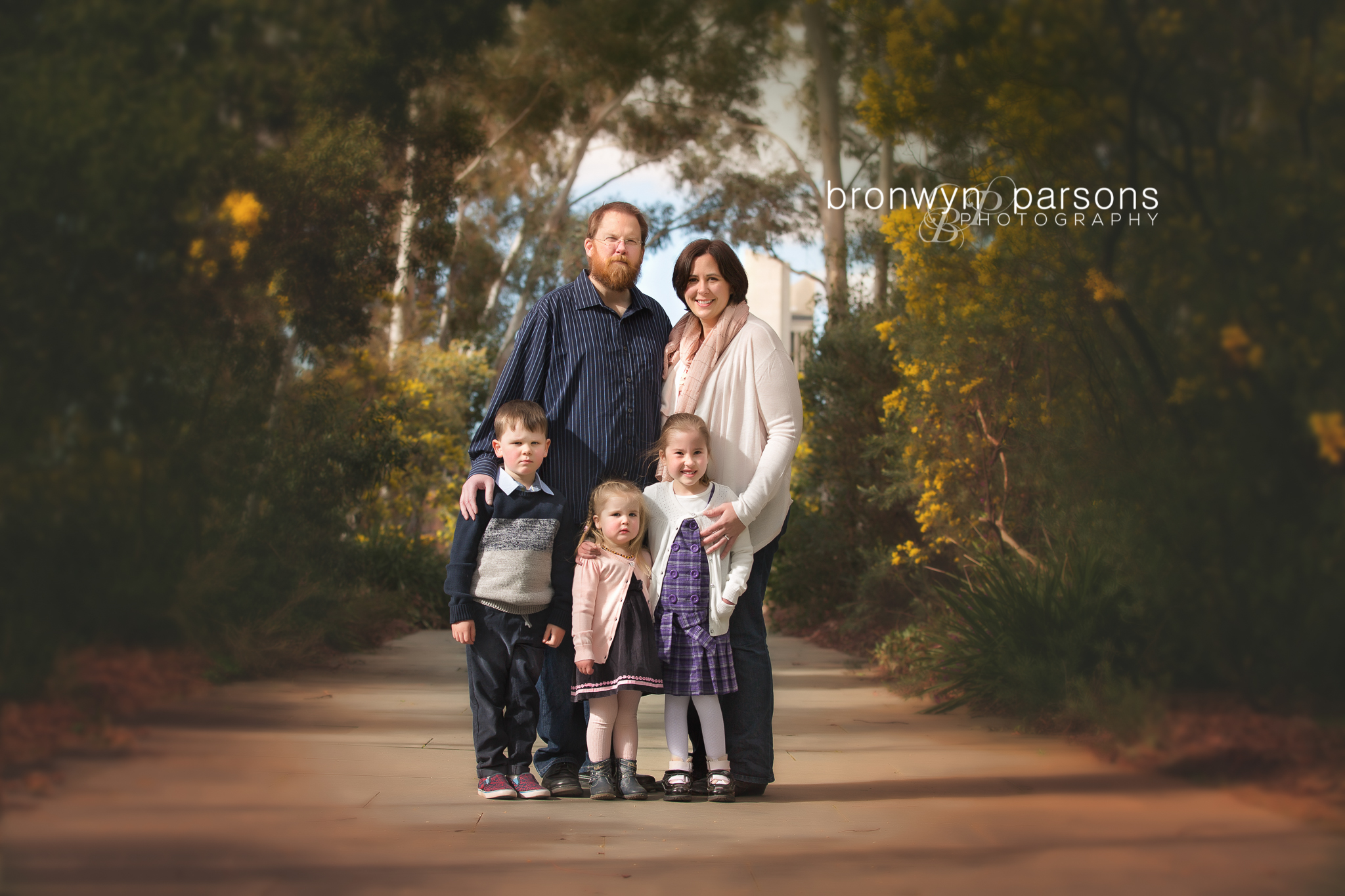 Family photography Canberra Family in Spring