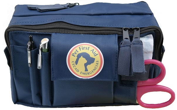 Botiquin Primeros Auxilios Pet First Aid CECAD emergencias