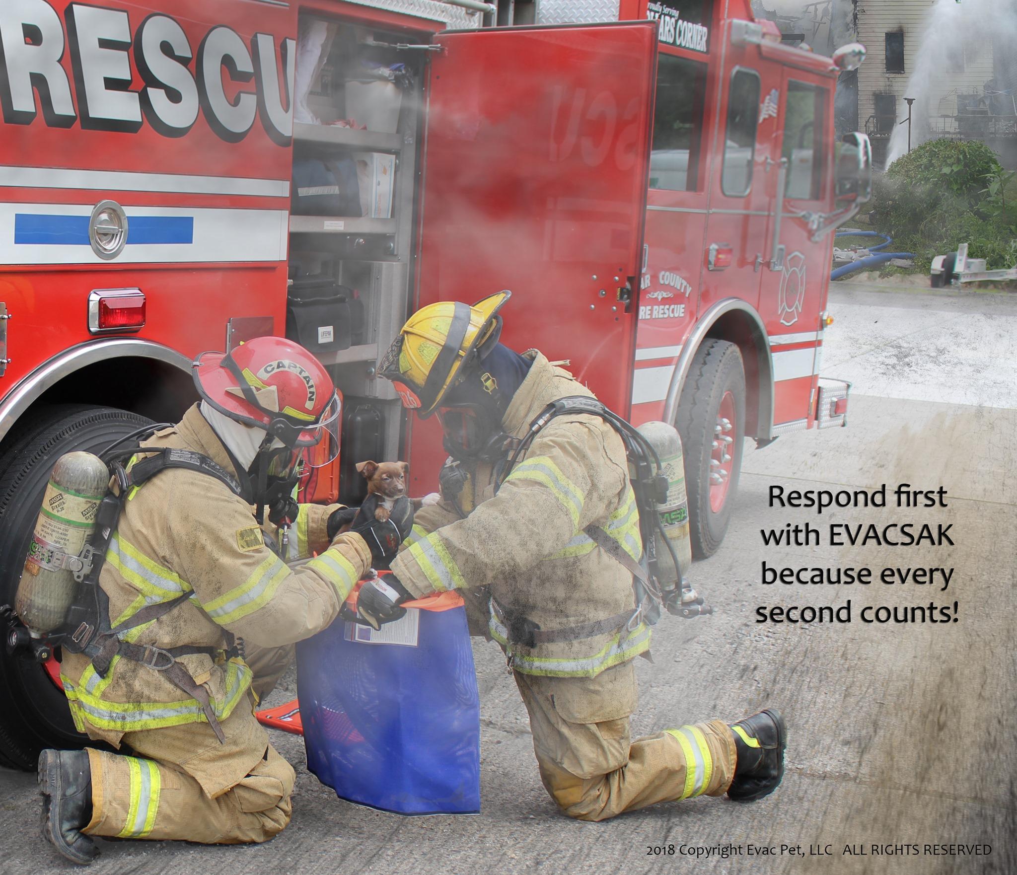 EvacSak EvacPet Pet First Aid CECAD