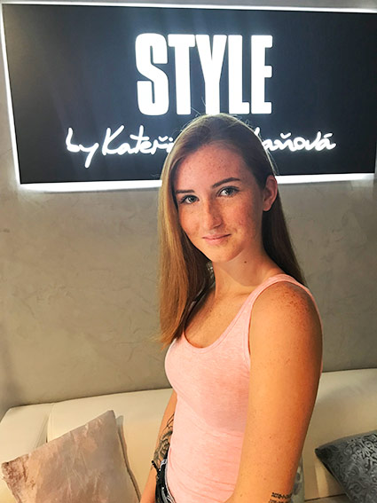 Andrea Jungmanova Hairstylist