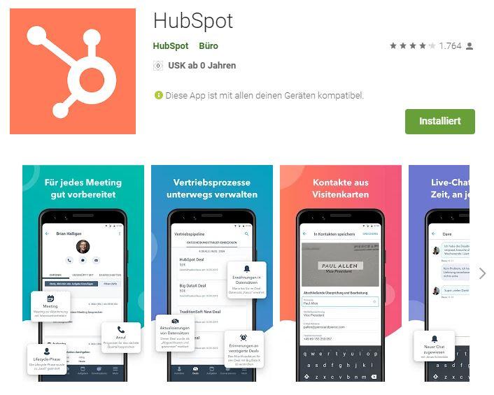 Hubspot App