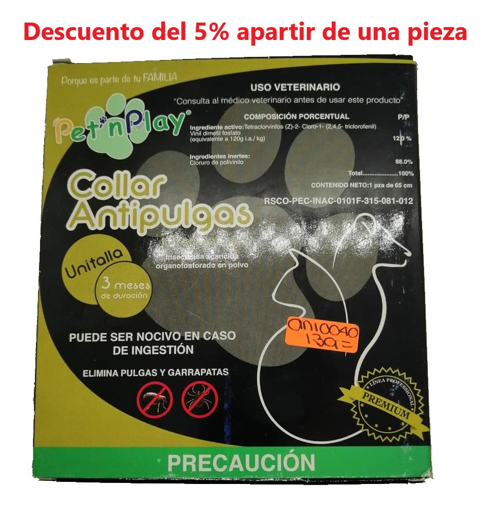 Collar Anti-Pulgas