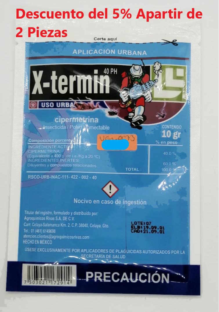 X-Termin 10grs Polvo Sobre