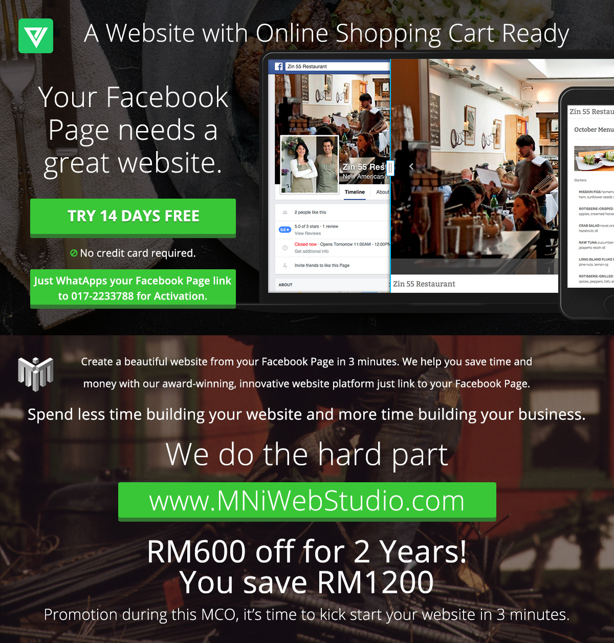 MCO Promotion You SAVE RM1200